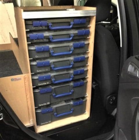 Bilindretning Ford C-Max 2
