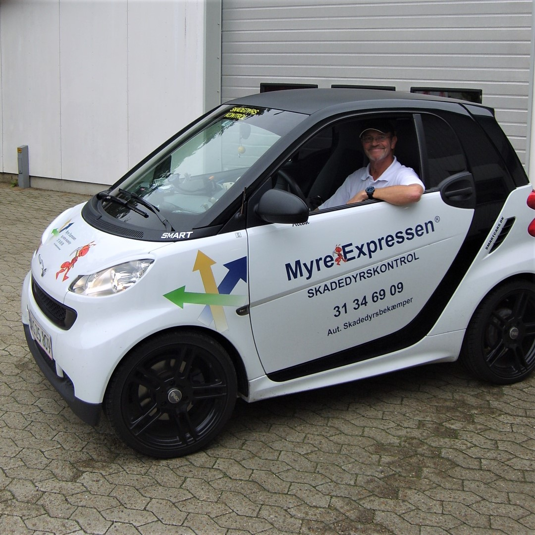 Myrexpressen - Mercedes Smart (Large)