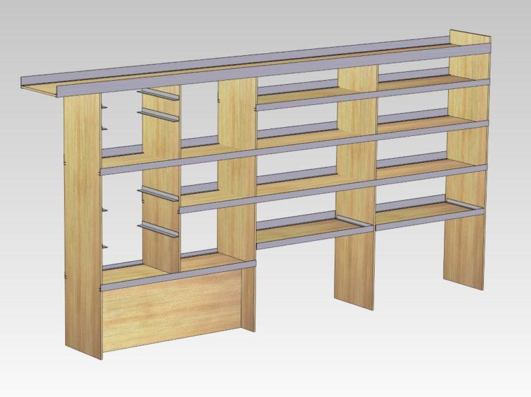 Reol-i-venstre-side-med-plads-til-Carrylitekasser-Brugt-og-paa-lager-bilindretning-Medium-768x575