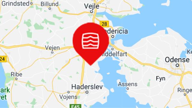 kort til Dansk Varebilindretning