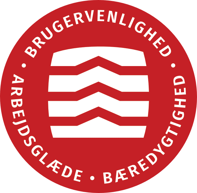 Dansk Varebilindretning bomaerke
