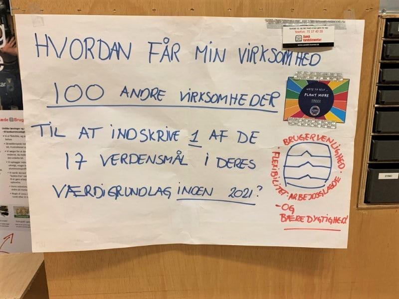 Dansk Varebilindretning - workshop skitse - de 17 verdensmaal