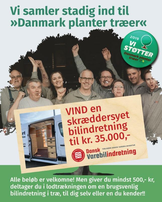 Støt plant et træ - dansk varebilindretning opd mobilvenlig (Custom)