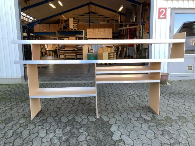 Reol Venstre side - bilindretning - entreprenør - tømrer - Ford Transporter - Ford Custom 1